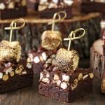 Campfire Rocky Road Brownies