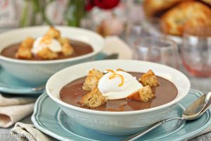 Chocolate Soup | From SugarHero.com