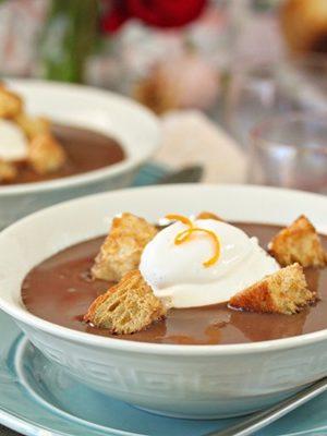 Chocolate Soup   From SugarHero.com