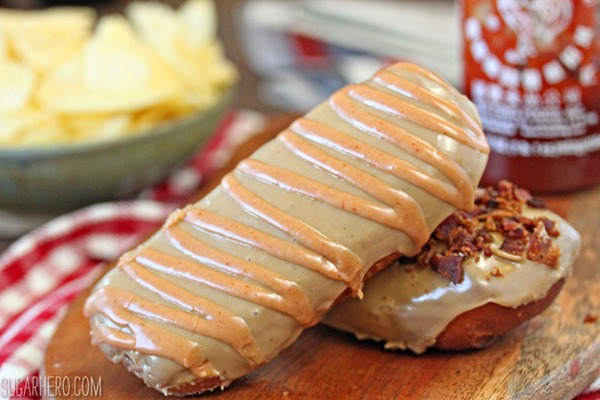 Bronuts Maple Bars | From SugarHero.com