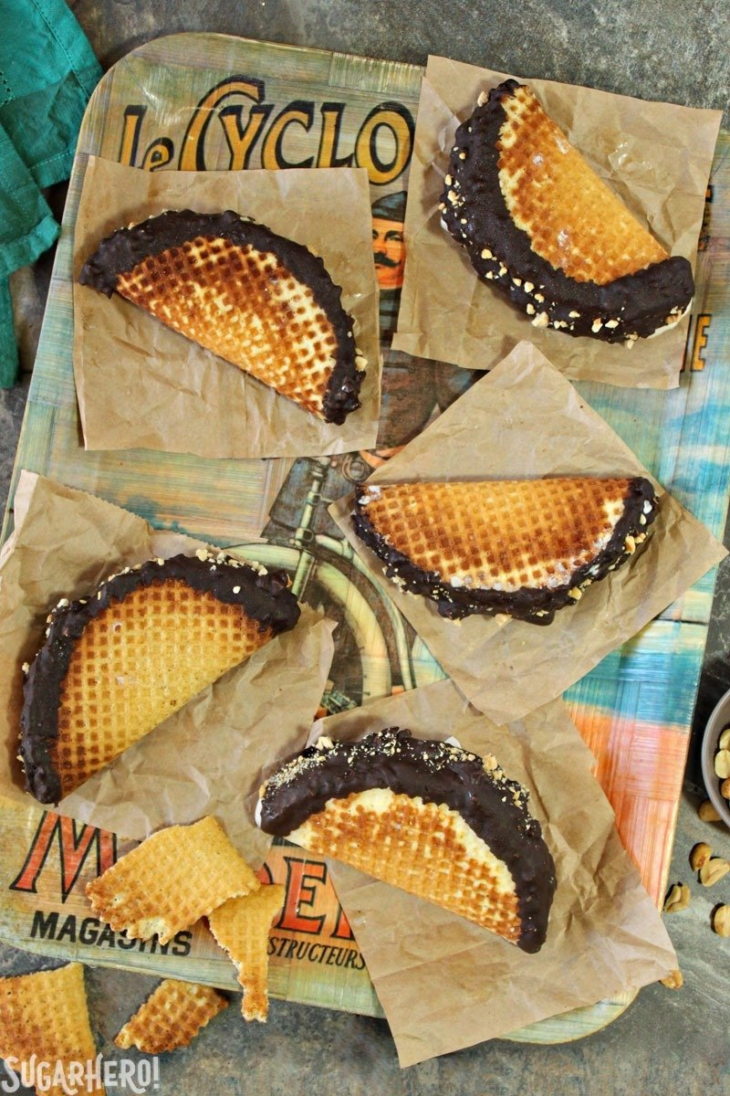 Homemade Choco Tacos Recipe | From SugarHero.com