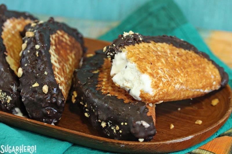 Homemade Choco Tacos Recipe   From SugarHero.com