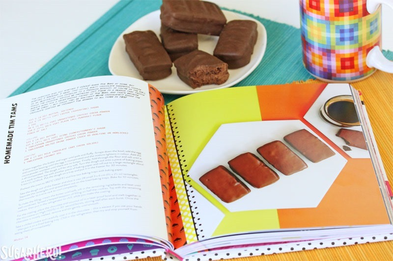Homemade Tim Tams | From SugarHero.com