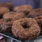 Chocolate Blackout Doughnuts
