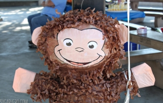 Curious George Birthday Party Ideas | From SugarHero.com