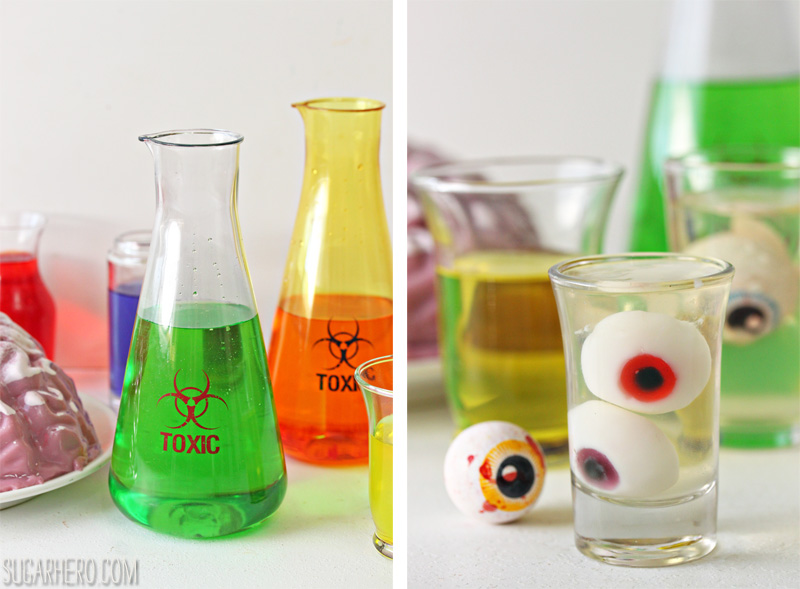Floating Eyeball Jell-O Shots