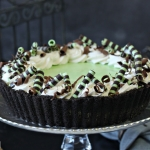 Fresh Mint Grasshopper Pie