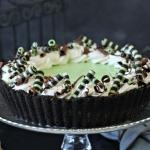 Fresh Mint Grasshopper Pie