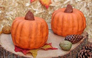 Pumpkin Bundt Cakes | From SugarHero.com