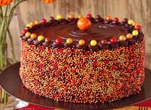 Pumpkin Layer Cake | From SugarHero.com