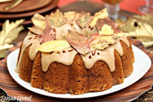 Cinnamon Swirl Pumpkin Pound Cake