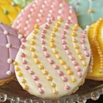 Faberge Egg Sugar Cookies