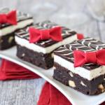 Tuxedo Brownies