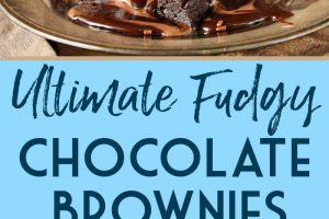 Ultimate Fudgy Chocolate Brownies | From SugarHero.com