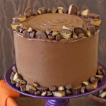 Peanut Butter Cup Banana Cake