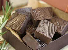 Rosemary Raspberry Truffles | From SugarHero.com