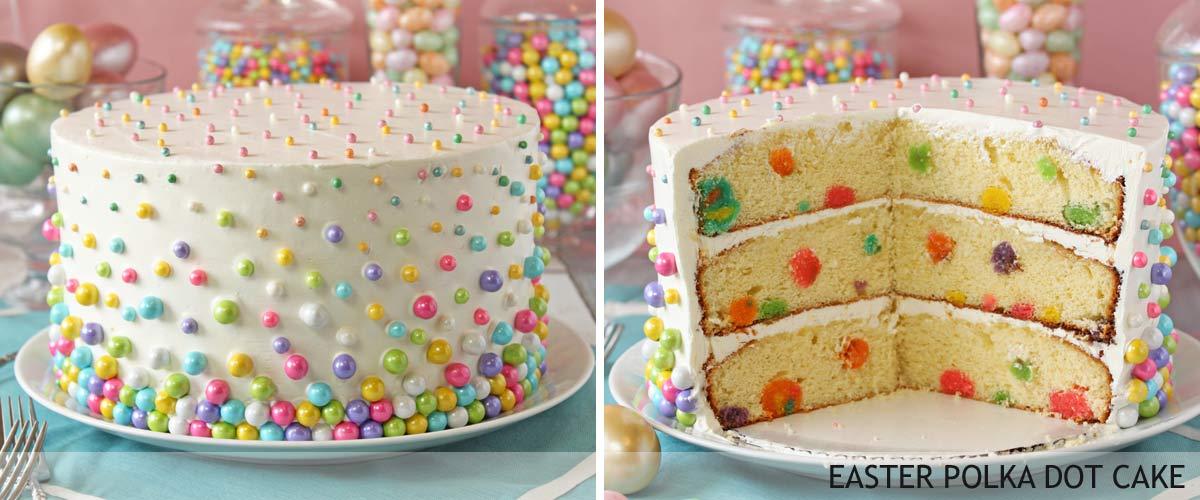 easter-polka-dot-cake
