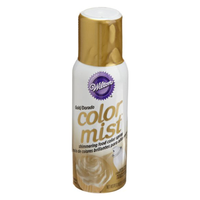 gold color mist