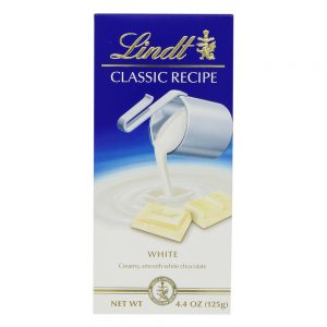Lindt White Chocolate Bars