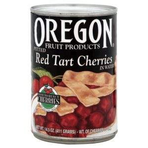 red tart cherries