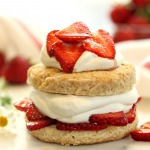 Grown-Up Strawberry Shortcake