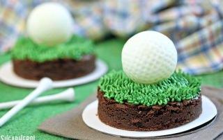 Golf Ball Truffles | From SugarHero.com