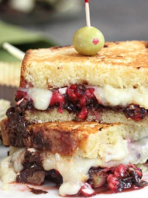 Dessert Grilled Cheese Sandwiches | From SugarHero.com