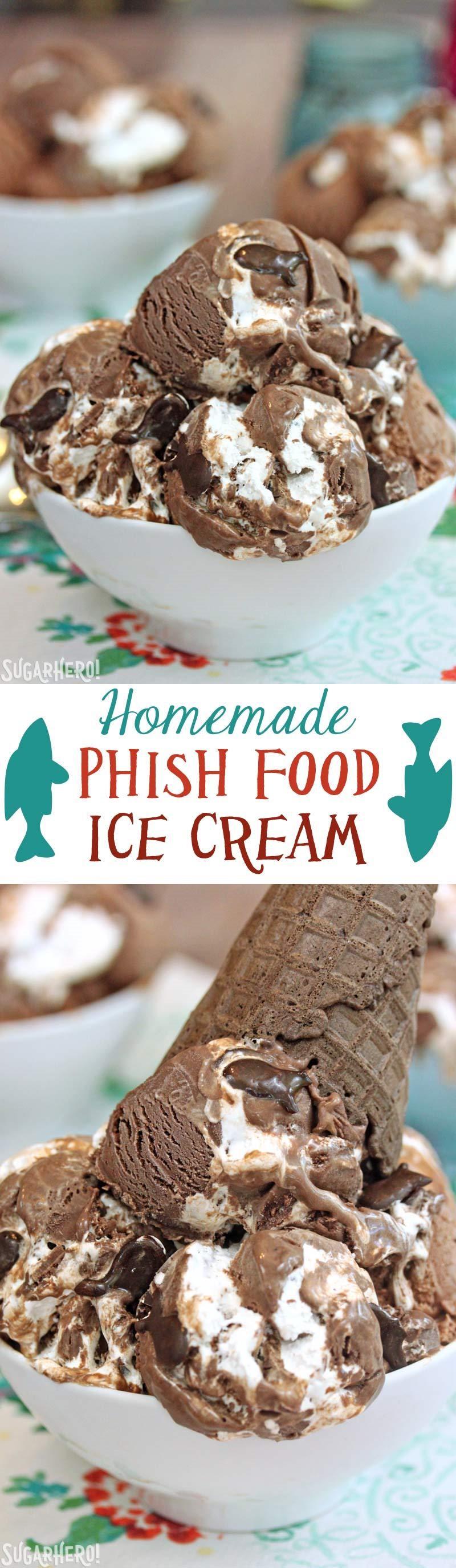 Homemade phish food ice cream sugarhero for Homemade fish food