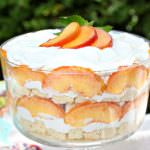 Peaches and Cream Trifle