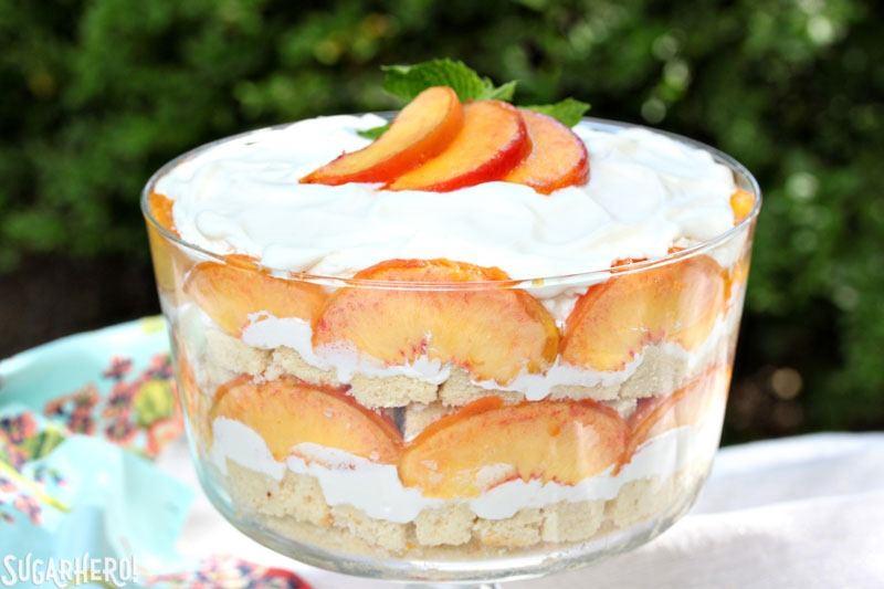 Peach Cream Cheese Pound Cake