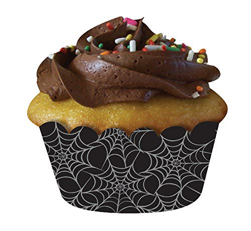 spiderweb cupcake wrappers