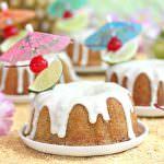 Mai Tai Bundt Cakes