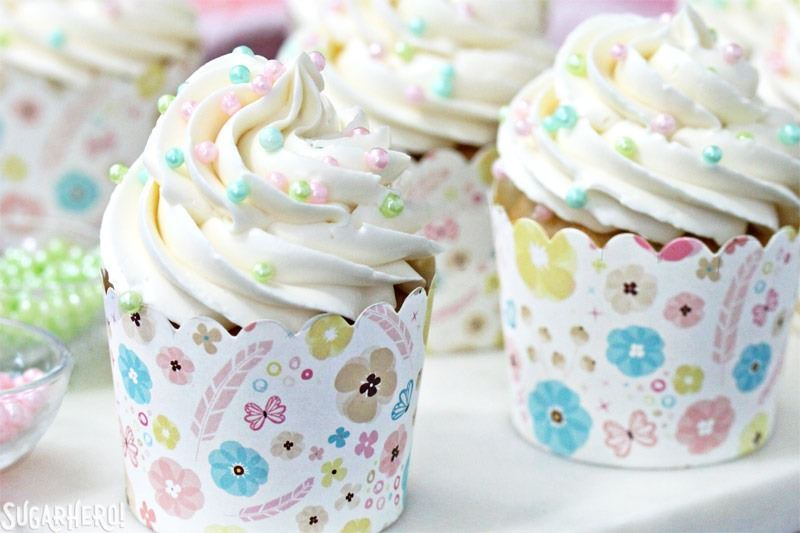 The Easiest Swiss Meringue Buttercream | From SugarHero.com