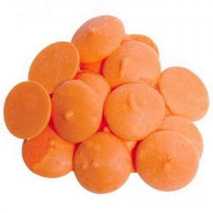Orange Candy Melts | From SugarHero.com