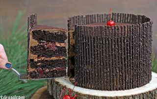 Black Forest Cake | From SugarHero.com
