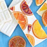 Candied Orange White Chocolate Bars