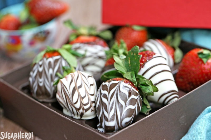 Coated Strawberries