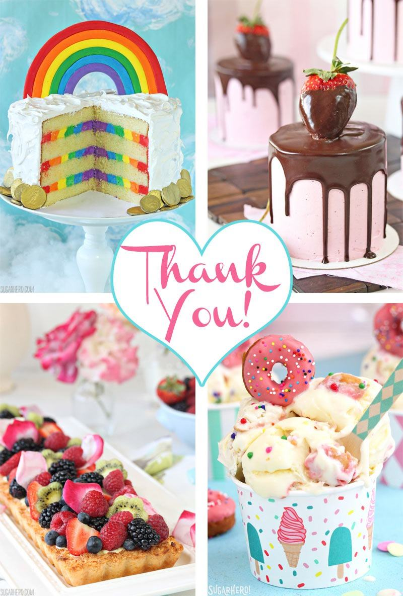 Thank you for taking the 2017 Reader Survey from SugarHero.com