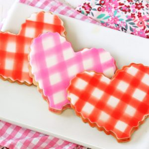 Brown Butter Heart Cookies | From SugarHero.com
