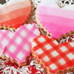 Brown Butter Heart Cookies