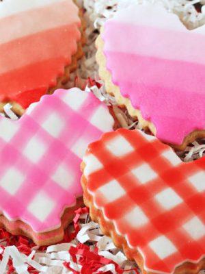 Brown Butter Heart Cookies | From SugarHero.com