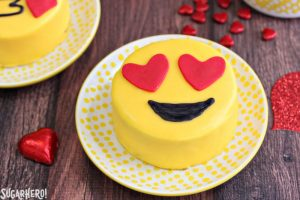 Emoji Cakes | From SugarHero.com