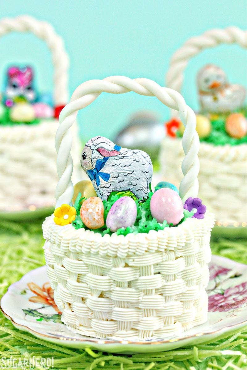 Easter basket cupcakes sugarhero easter basket cupcakes negle Gallery