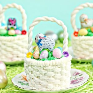 Easter Basket Cupcakes | From SugarHero.com