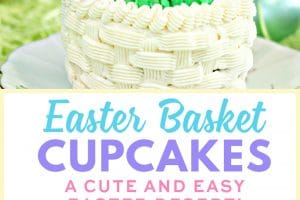 Easter Basket Cupcakes | From SugarHero.com