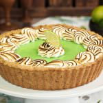 Toasted Coconut Lime Meringue Tart