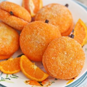 Clementine Cookies | From SugarHero.com
