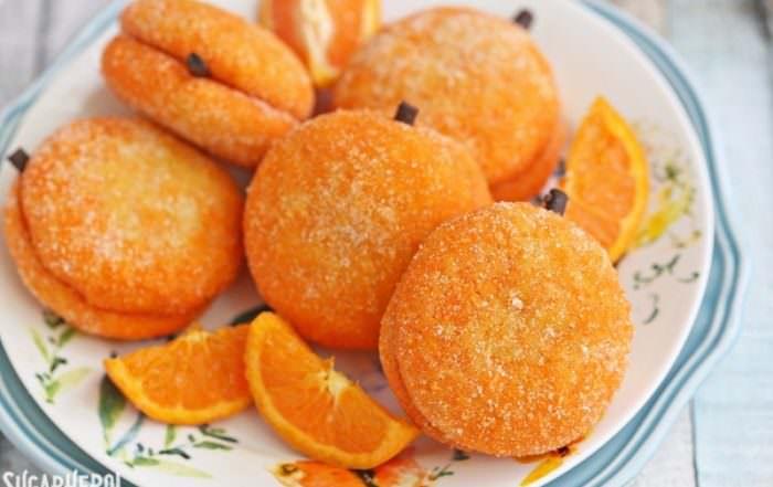 Clementine Cookies | From SugarHero.com