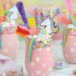 Unicorn Milkshakes | From SugarHero.com