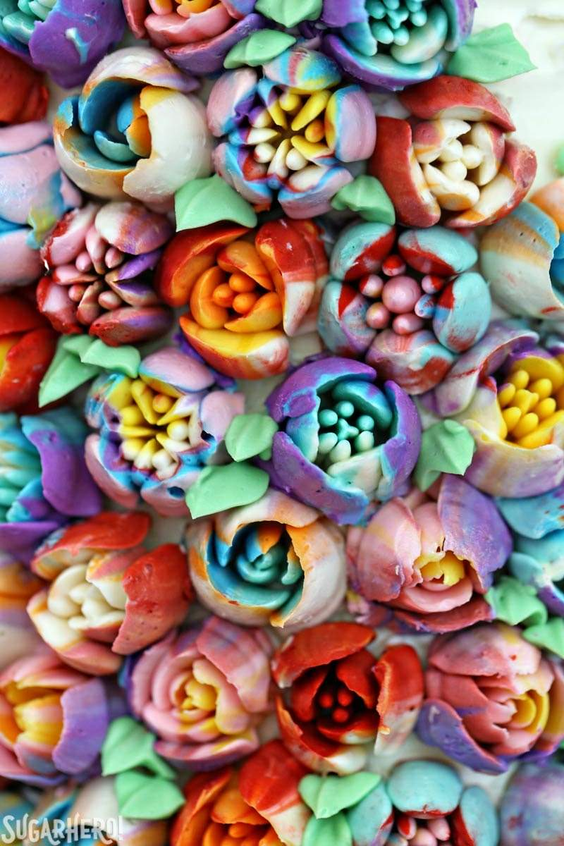 Spring In Bloom Layer Cake Sugarhero